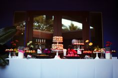 Not really into wedding cakes so we had a big mini dessert spread by Sweet and Saucy in Long Beach, CA.