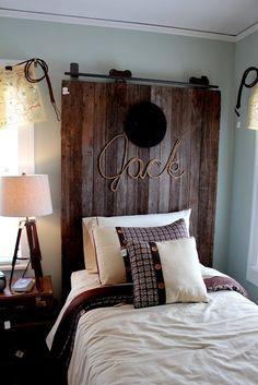 20 cabeceros de cama con puertas recuperadas /20 headboard made with old doors | Bohemian and Chic