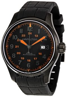 Hamilton Khaki Field Black Dial Mens Automatic Watch H70685337