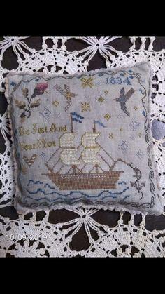 Blackbird Designs, Cross Stitch Designs, Hand Stitching, Stitches, Embroidery, Decor, Dots, Sewing Stitches, Decorating