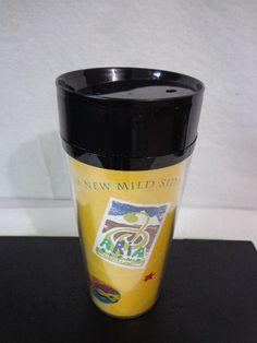 Starbuck FIND! 1998 STARBUCKS Coffee SERENADE Mild Side ARIA Blend Travel TUMBLER 16 oz  #Starbucks