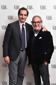 Thanks to our CEO Christopher Bizzio and to Edmondo Tirelli for their presence at our Wedsnday evening event! #vdp #mfw #MilanFashionWeek