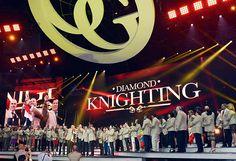 Diamond knighting