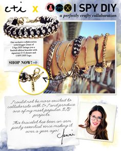 Fabulous collab with ISPYDIY! Wouldn't you love to add this to your #armparty?  #chloeandisabel #jewelry #ispydiy    Shop: http://jensinemartinez.chloeandisabel.com/