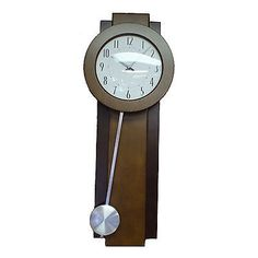 Blemished Bulova C3383 AVENT Pendulum Wall Clock