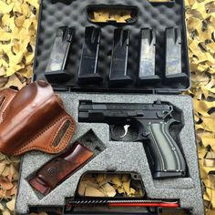 CZ PCR customized by Automatic Accuracy: Meprolight Night Sights, Cz rosewood half checkered grips, LOK zebra g10 grips, Race trigger job w/CZ Custom competition hammer, 13# mainspring, hammer work, sear work, internal polishing, shortened reset, CZ...