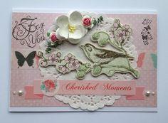 Vintage-style card