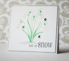 I scrap my way: Winter Blooms - Clearly Besotted Guest Design Christmas Makes, Flower Cards, Birthday Cards, Card Ideas, Stamps, Scrap, Card Making, Bloom, Winter