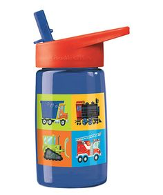 This Vehicles 16-Oz. Tritan Water Bottle is perfect! #zulilyfinds