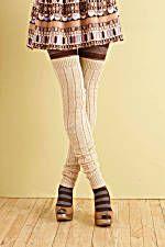 Great free leg warmer pattern from Lion Brand yarn