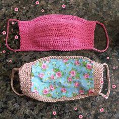 Como fazer máscara de crochê com gráficos e passo a passo - Artesanato Passo a Passo! Crochet Case, Free Crochet, Crochet Bikini, Knitted Hats, Scrapbook, Knitting, Inspiration, Bags, Stuff To Buy