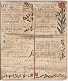 Digital Collections: Pennsylvania German Fraktur and Manuscripts