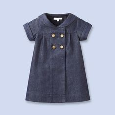Christmas dress to make for Maddie.  Or Bella.  In navy dupioni?