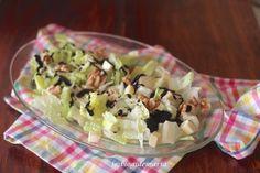 Ensalada de nueces y queso con balsámico de módena | Comer con poco