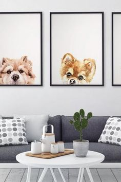 The Best Pet Portrait Artists on Etsy #purewow #art #pet #gifts #family