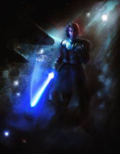 Anakin Skywalker by Lotsmanoff