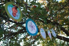 Here is a fun activity to do at a baby shower or Mother Blessing/blessingway. Each guest can decorate a 10 cm circle with words of