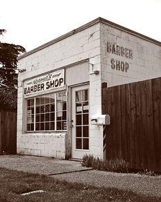 Neighborhood barber shop