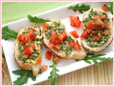 Garlic Sausage Pesto Appetizer Bites Catch My Party. Roasted Balsamic Tomato Crostini Table For Two By Julie . Hungry Jack Mashed Potatoes Recipe, Mashed Potato Recipes, Quiche Recipes, Sloppy Joe Recipe With Bbq Sauce, Sloppy Joes Recipe, Appetizer Recipes, Whipped Goat Cheese, Pepper Steak