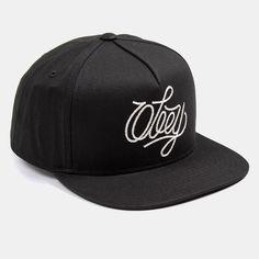 893a9f08820 OBEY Clothing Antwerp Snapback Cap - Black