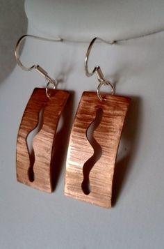 adorngems -  Copper Serpent Earrings, £16.00 (http://www.adorngems.com/copper-serpent-earrings/)