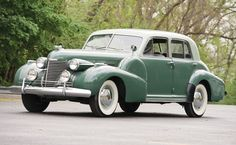 1940 Cadillac  Maintenance/restoration of old/vintage vehicles: the material for new cogs/casters/gears/pads could be cast polyamide which I (Cast polyamide) can produce. My contact: tatjana.alic@windowslive.com