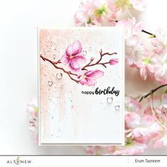 Creative Coloring with Erum: No-Line Watercoloring on Dotted Blooms Birthday Card Design, Birthday Cards, Diy Birthday, Happy Birthday, Birthday Wishes, Husband Birthday, Birthday Greetings, Birthday Ideas, Scrapbook Blog