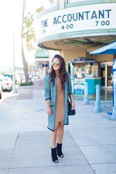 style steal turtleneck dress forever21 tan dress long cardigan peep toe