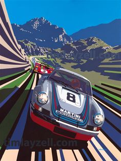 Carrera Takes Targa, by Tim Layzell