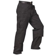 "Mens ""Action"" Trousers Black"