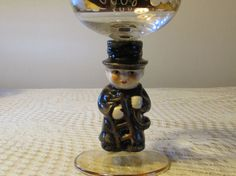 Bockling Neudemau Goebel Wine Glass Chimney Sweep by LasLovelies