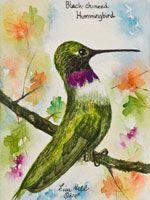 Lisa Hill - Watercolor Artist - Still Life & Wildlife Watercolor Paintings