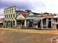 History brought to life - Sovereign Hill in Ballarat, Victoria, Australia.