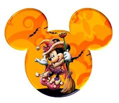 Mickey Mouse And Friends, Disney Mickey Mouse, Mickey Ears, Disney Love, Disney Magic, Mickey Halloween, Halloween Clipart, Halloween Frames, Happy Halloween