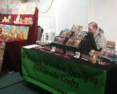 We had a lovely day Saturday getting out and meeting people and all the other Woodworkers. #crafts #craftfair #woodwork #woodturning #wood #penturning #whitlockwoodendesigns #woodpen by whitlockwoodendesigns