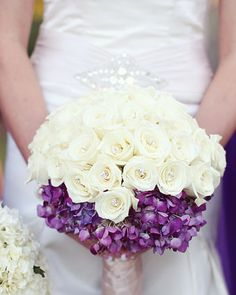 white and purple on the bottom - neat idea!