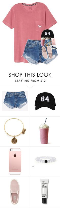 """"""""""" by morgankailah ❤ liked on Polyvore featuring Alex and Ani and Vans"""