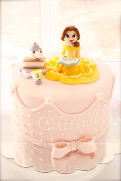 Princess Belle cake (Beauty & The Beast) | Flickr - Photo Sharing!