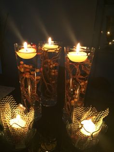 Diy -candle arrangements