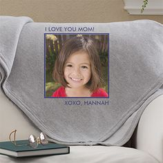 Picture Perfect Personalized Sweatshirt Blanket-1 Photo