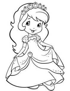 Strawberry Shortcake 24 - Coloringcolor.com