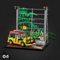 Lego Jurassic World, Legos, Jurrassic Park, Amazing Lego Creations, Lego Man, Lego Room, Lego Worlds, Lego Design, Lego Models