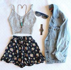 Sommer outfit, nederdel