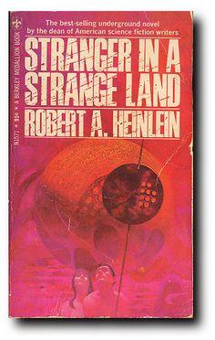 Stranger in a Strange Land, Robert Heinlein, 1968 paperback, 95 cents