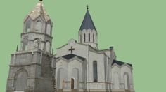 Ghazanchetsots Cathedral - 3D Warehouse