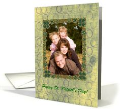 Four%20Leaf%20Clovers%20Photo%20Card,%20St.%20Patrick%92s%20Day%20card