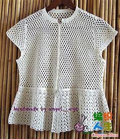 Crochet Summer Tops, Summer Knitting, Crochet Woman, Crochet Lace, Crochet Magazine, Crochet Cardigan, Crochet Fashion, Crochet Clothes, Crochet Patterns