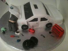 mechanic cake | BMW CAR — Birthday Cakes
