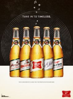 Miller High Life: Tune in to Timeless - illujustrate.com