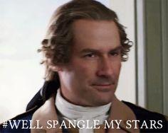sassy George Washington (historically accurate)